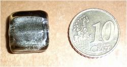foliekraal 15x15mm zilvergrijs  Z–27