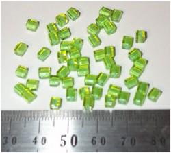 50 4x4 blokjes groen limoen lijn (A82)