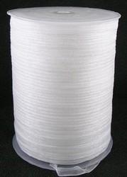 6 mm organza lint wit C01