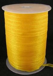 6 mm organza lint oranje C16