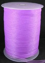 6 mm organza lint violet C45