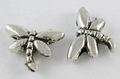 10 metalen vliegend insect kralen M11 nikkelvrij
