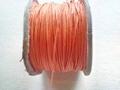 Waxkoord 0,5 mm oranje #6 per meter