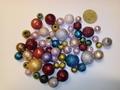 100 gram bobbeltjes kralen mix 8 - 16 mm