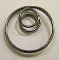 Metalen Dubbele ring Zwart
