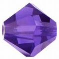 Swarovski 4mm type 5301 Purple