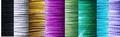 Spang met draaislot op lengte gemaakt 35 - 60 cm kleurkeuze