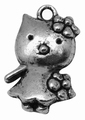 Metalen bedel MH-87 Nikkelvrij Loodvrij Kitty