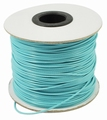 Waxed-poly koord 1mm HQ-35 lightcyan