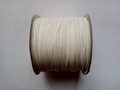 Waxed cotton 1mm HQC-108 wit