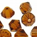 5301 6mm smoked topaz