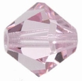 Swarovski 4mm type 5301 Light Rose Aanbieding !