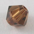 Swarovski 4mm type 5301 Smoked Topaz