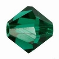 Swarovski 4mm type 5301 Emerald