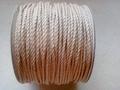 Twist waxkoord 2mm beige