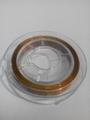 10 meter rol Tigertail draad 0,45 mm goud