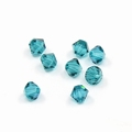Swarovski 4mm type 5301 Blue Zircon