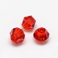 Imitatie austrian crystal 4,5x4 mm Darkred