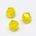 Imitatie austrian crystal 4,5x4 mm Gold