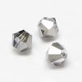 Imitatie austrian crystal 4,5x4 mm Grey