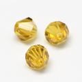 Imitatie austrian crystal 4,5x4 mm Goldenrod