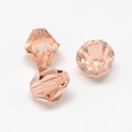 Imitatie austrian crystal 4,5x4 mm Lightsalmon