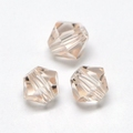 Imitatie austrian crystal 4,5x4 mm Bisque