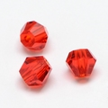 Imitatie austrian crystal 4,5x4 mm Red