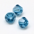 Imitatie austrian crystal 4,5x4 mm Steelblue