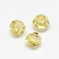 Imitatie austrian crystal 4,5x4 mm Yellow