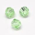 Imitatie austrian crystal 4,5x4 mm Lightgreen