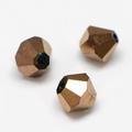 Imitatie austrian crystal 4,5x4 mm Copper plated