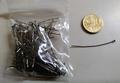 100 nietstiften 4 cm zwart