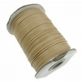 Waxed cotton 1mm Camel