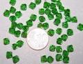 6mm facet diabolo kraal groen