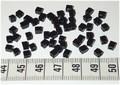 50 4x4 blokjes Zwart (A42)