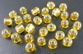 50 gram 4mm rocailles goud silver lined #22